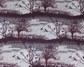 Reserved Listing for Erica Crows at the Graveyard Halloween Fabric