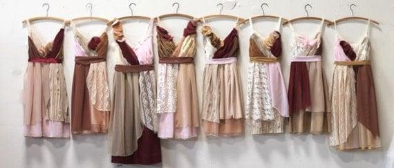 Jade's Individual Payment for Lindsay Richard's Custom Bridesmaids Dresses