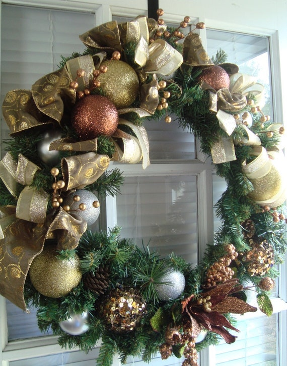 elegant christmas wreaths photo6 - Elegant Christmas Wreaths