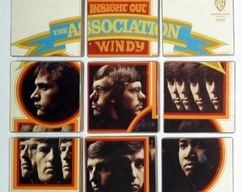 The Association Inside Out recycled record album cover sets