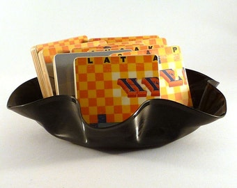 Head East authentic Flat as a Pancake album cover coasters with vinyl record bowl