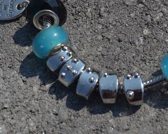 SALE Braille Letter Bead Bracelet from Jewelry in Braille DREAM