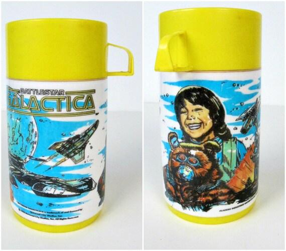 vintage Battlestar Galactica Aladdin thermos