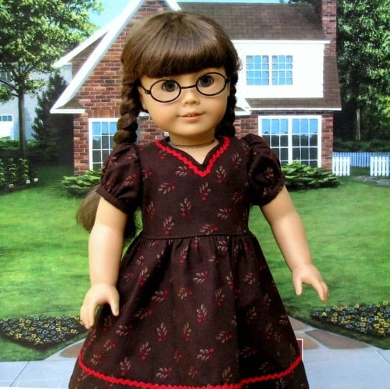 Molly's 1940 style School Dress - American Girl Doll Clothes