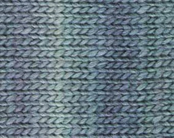 Wool Soy Yarn, 125 yds DK weight, 50 grams, 1.7 oz.  Self-striping, can be used for felting.