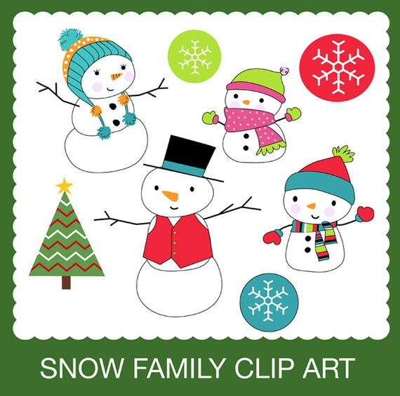 snowman family clip art free - photo #27