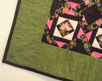 Reduced Quilt Oriental Lotus