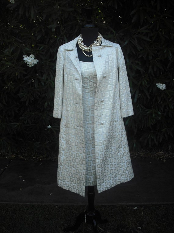 1960's Ladies Dress with Matching Coat