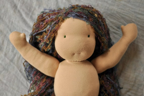 "16"" Mermaid Waldorf Steiner Doll"