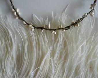 VOGUE OSTRICH FRINGE Corn Silk, Cream / 3ply / 303 / On Sale