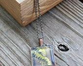 Photo Pendant Necklace - Fern