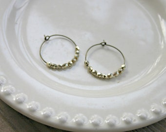 Simple Hoops - Gold