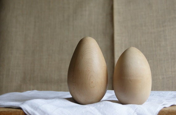 Wood Darning Eggs
