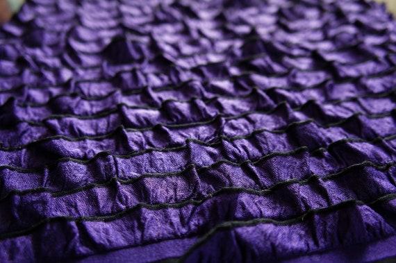 SALE Ruffle Wrap Newborn Layering Ruffle Baby Girl Photography Prop Dark Purple