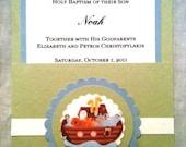 Noah's Ark Pocket Invitations
