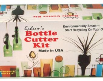 New Ephrem's Original Bottle Cutter Kit Cut Bottles And Jars Recycle Reuse Ephrems