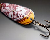 Chippewa Light Vintage Beer Can Large Original Recyclure Fishing Lure