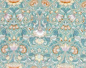 Lodden by William Morris on mono deluxe Needlepoint Canvas