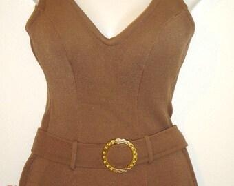 1960's Bond Girl Swimsuit