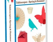 Cricut Tablescapes- Spring and Summer cartridge- unopened, manufacturer sealed