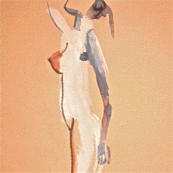 One Minute Pose CVI.8 - original painting by Gretchen Kelly