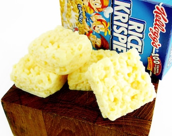 Rice Krispie Treats - 4Pack Goat's Milk Soaps