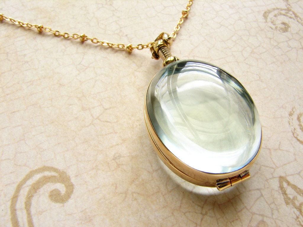 oval beveled glass locket necklace personalized oval heirloom