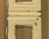 AUTHENTIC Tin Ceiling Quad Four Picture Frame RECLAIMED Photo S687-12