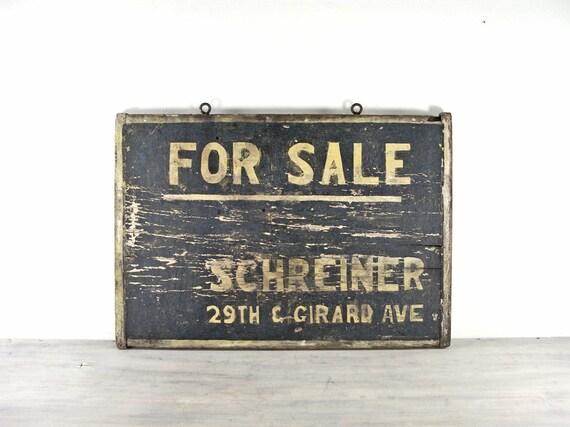 19th Century Philadelphia Advertising Sign
