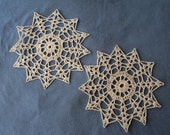 12 pointed Star Doilly Set