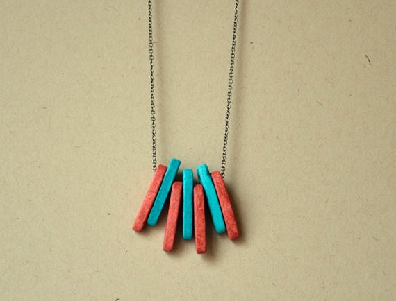 Summer Spike necklace