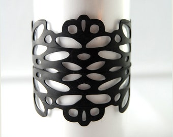 Reflection - Recycled Bicycle Inner Tube Bracelet