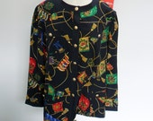 Blouse/Jacket  by Schneberger -  vintage 1980s SALE PRICE
