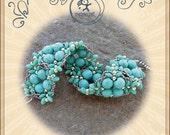 Bracelet tutorial / pattern Elek bracelet...PDF instruction for personal use only