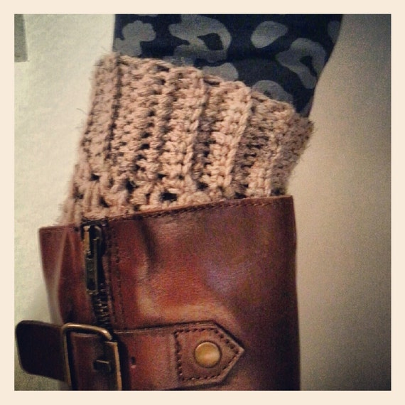 leg warmers/ crochet boot cuffs/ many colors/ fall accessory