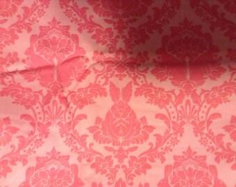 Tula Pink Full Moon Forest Rabbit Damask Pink Fat Quarter