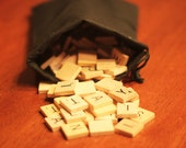 Wood Scrabble Tiles Random Assortment Of 50