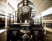 Diesel Train Locomotive Chesapeake Western Fine Art Print