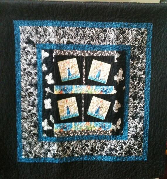 Rejoice Always a 50 x 50 inch ethnic art quilt