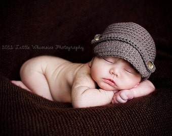Crochet Pattern hat, num 77,  sizes newborn to adult, permission to sell your finished hats, instant digital download