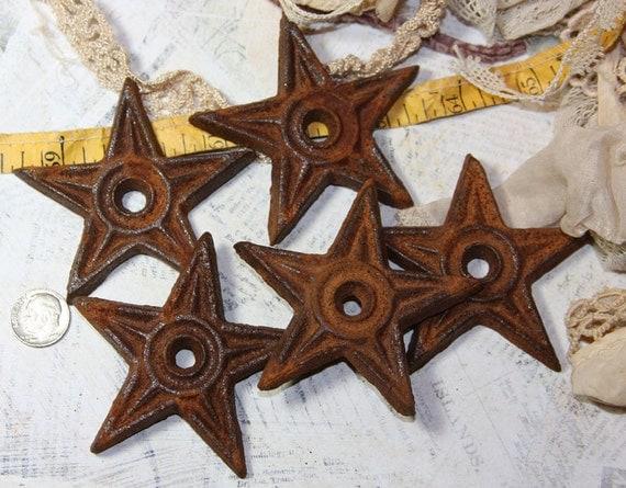 Small Rusty Metal Stars 2