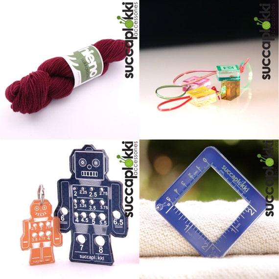 SET of FOUR Succaplokki-items
