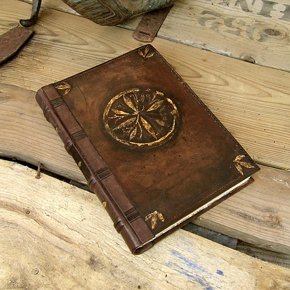 Vintage Leather Book 100