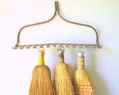 Vintage Rake Head / Display Rack / Farmhouse Decor / Rustic / Autumn