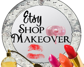 Custom Etsy Banner Set Business Card Avatar Set Complete Graphics Makeover  xox