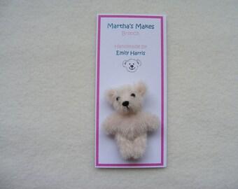 Miniature Bear Brooch