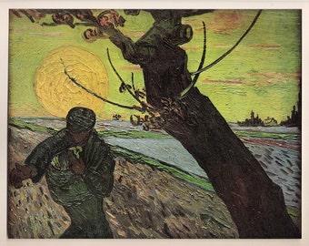 The Sower, Art print by Van Gogh