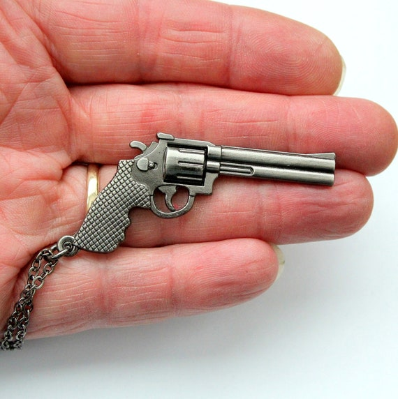 Gun Necklace - Magnum Force