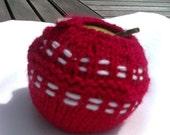 Cricket Ball Apple Jacket / Apple Cosy