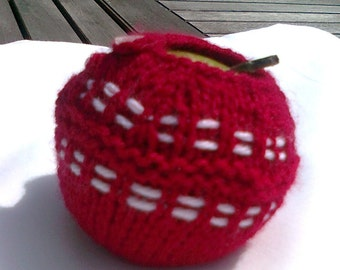Cricket Ball Apple Jacket / Apple Cosy